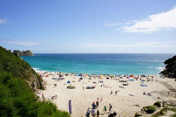 Best beaches in Britain, Porthcurno Beach