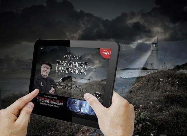 Isle of Fright phone app