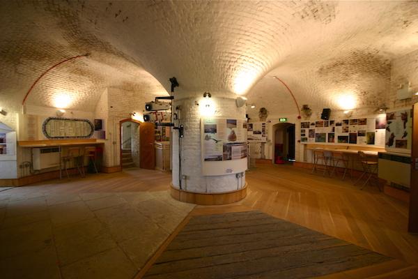 Interior of Jaywick Martello Tower