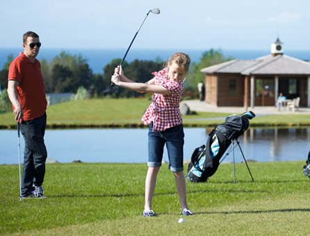 Fore! UK holiday parks with their own golf courses