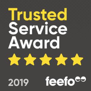 feefo 5* Service Award