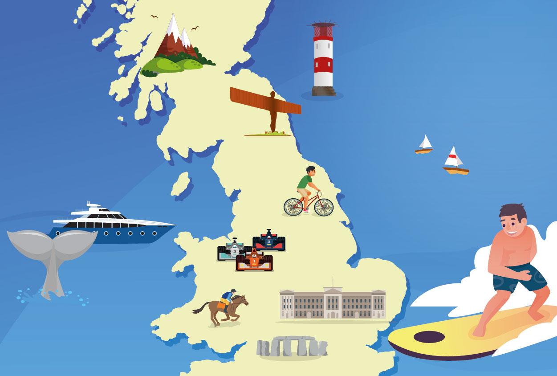 Bucket List Britain 2019 – Top 25 hot spots!