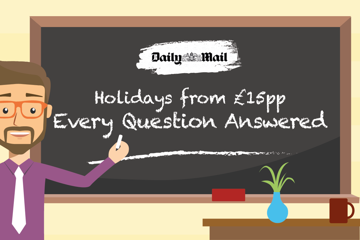 Daily Mail Holidays from £15pp – Every Question Answered