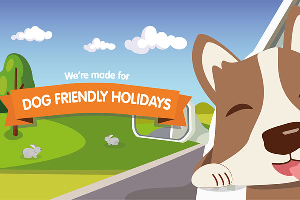 We're made for pet friendly holidays