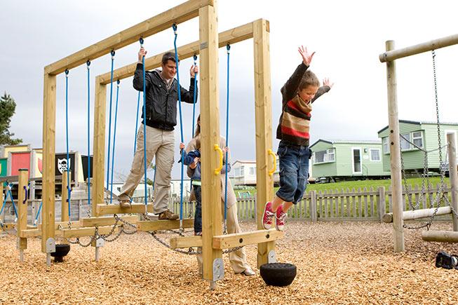crantock play park