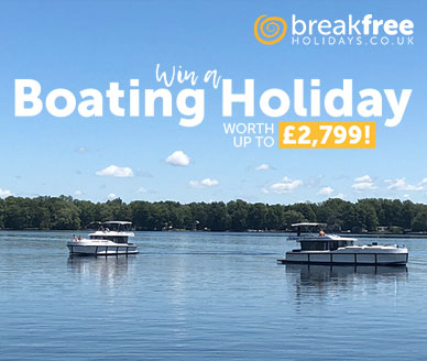 Win a Boating Holiday Worth Up To £2,799!