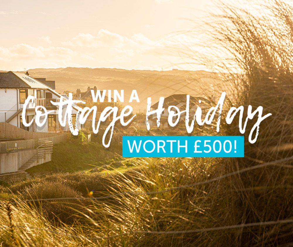 Win a Cottage Holiday Worth Up To £500